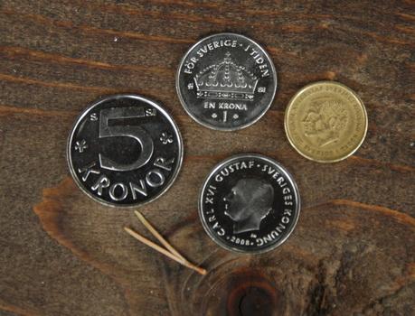 Курс шведской кроны к евро