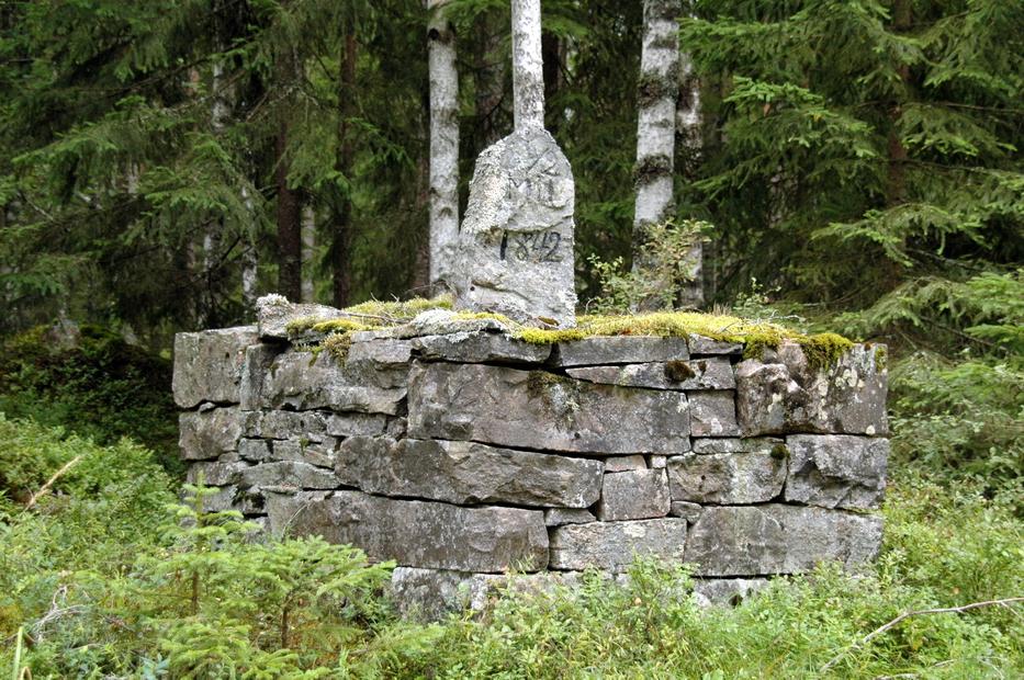 землянки шведских партизан