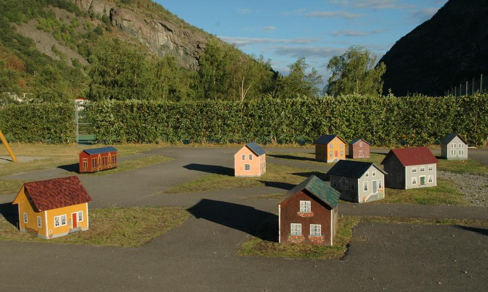 городок на детской площадке