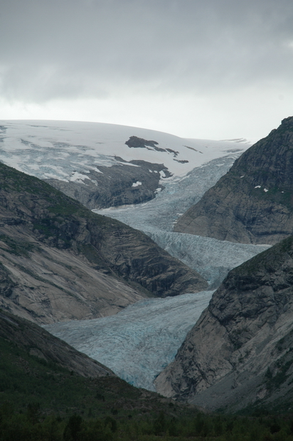 ледник вдали