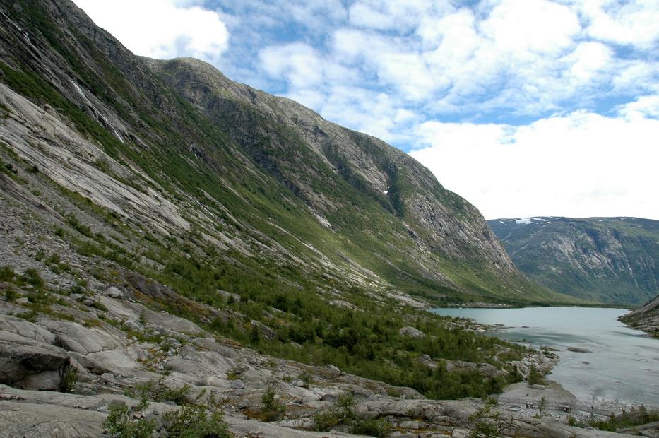 долина ледника