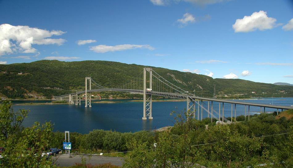 Лофотены мост