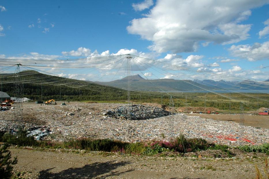 мусорная гора